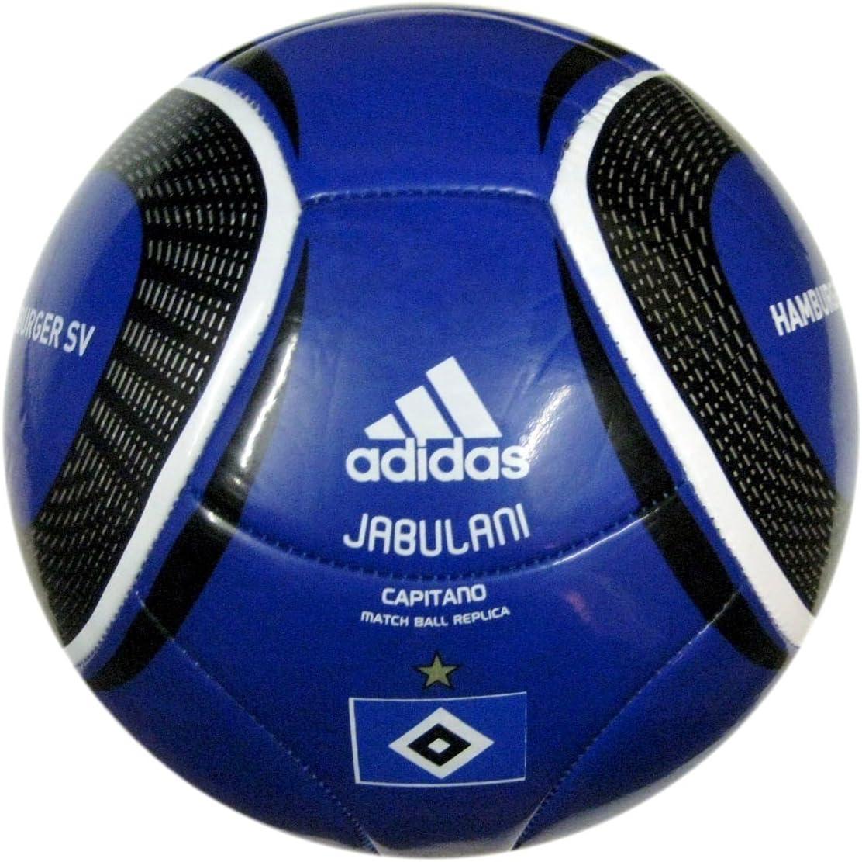 adidas Jabulani HSV Balón de fútbol, tamaño 4, Hamburger SV ...