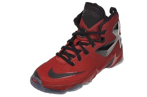 the best attitude 93415 5e851 Nike Kids Lebron XIII GS 4 M US Big Kid University red Black  Bright