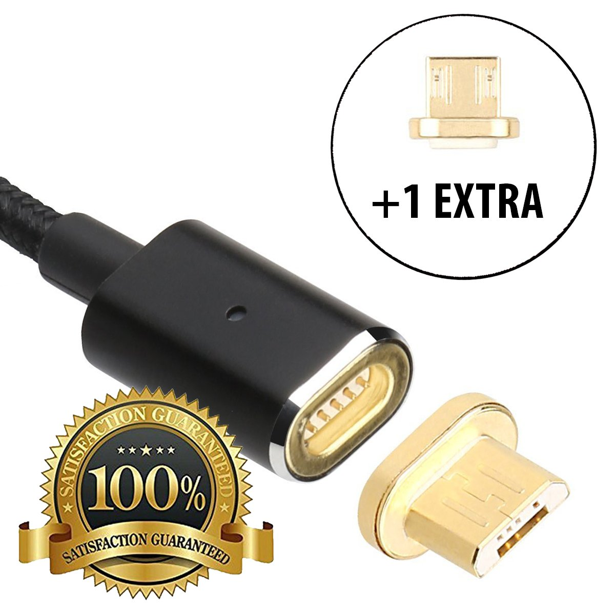 Amazon magnetic charging cable magnetic phone charger micro amazon magnetic charging cable magnetic phone charger micro usb charger cord fast charging cable android quick charger cord magnetic car greentooth Gallery