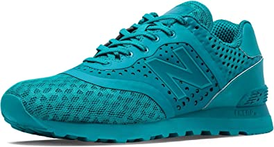 new balance 574 azul verde