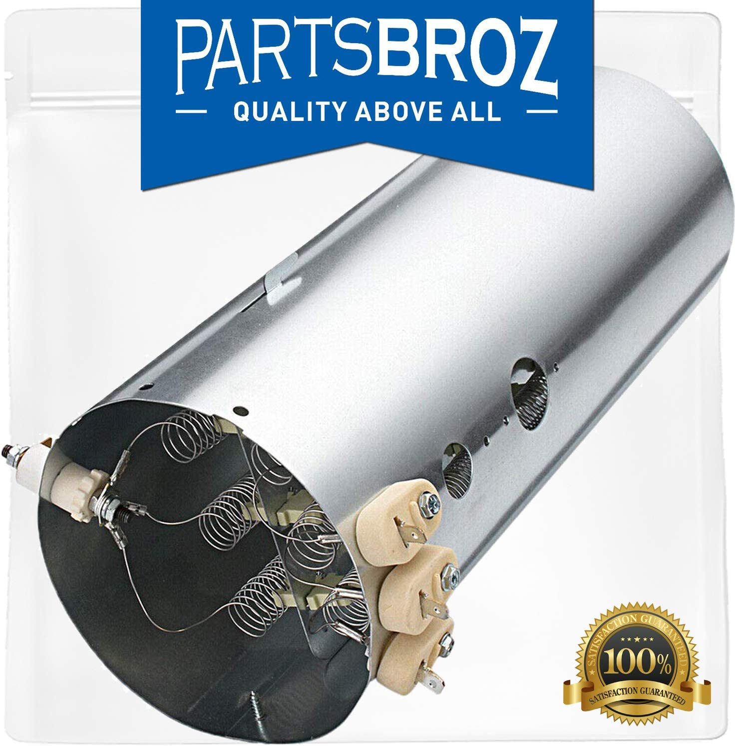 134792700 Dryer Heating Element for Electrolux & Kenmore Dryers by PartsBroz - Replaces 1482984, AH2349309, AP4456656, AP4368653, PS2349309 & EA2349309