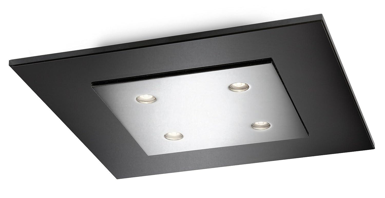 Philips InStyle LED-Deckenleuchte Matrix 4-flammig 2 W, chrom 407401116