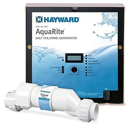 amazon com hayward goldline aqr15 aquarite electronic salt rh amazon com Salt Chlorinators Diagram Salt Chlorinator T-cell 5
