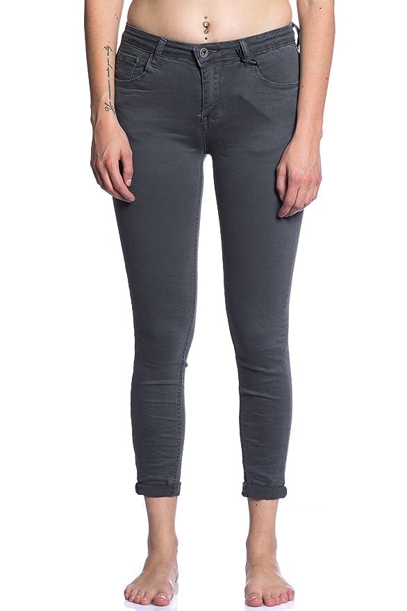 39fc238238 Abbino 3D-6109 Jeans con Bolsillos para Mujer - 7 Colores - Colección  Transición Otoño Invierno Fashion Sensibilidad Dulce Encanto Estilo  Elegante Dinámica ...