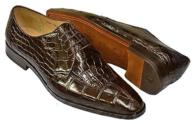search for best hot-selling latest really cheap Amazon.com | DAVID EDEN Capelli Men's Genuine Alligator ...