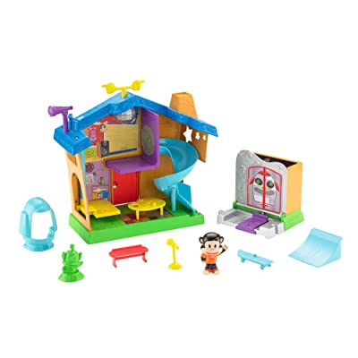 Fisher-Price Julius Jr. Rock 'n Playhouse Box: Toys & Games