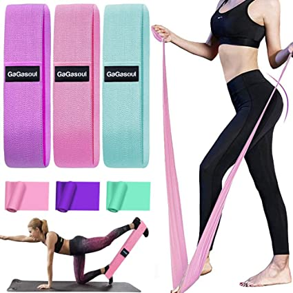 Dark Blue Dance Yoga Stretch Band Home Ballet Dance Equipment Ankle Straps for Outdoor and Intdoor Sports Weight Lifting Yoga Exercise Home Training Clearance Sale Exercise Resistance Bands Set