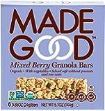 Made Good Granola Bar Mixed Berry, 5.10oz.Case of 6 Boxes
