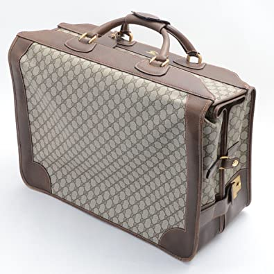 sale retailer 739ee 1e2cc Amazon | (グッチ) GUCCI オールドグッチ スーツケース ...