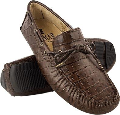 Zapatos N/áuticos Hombre N/áuticos Hombre Verano Mocasines Hombre Zerimar N/áuticos de Piel para Hombre