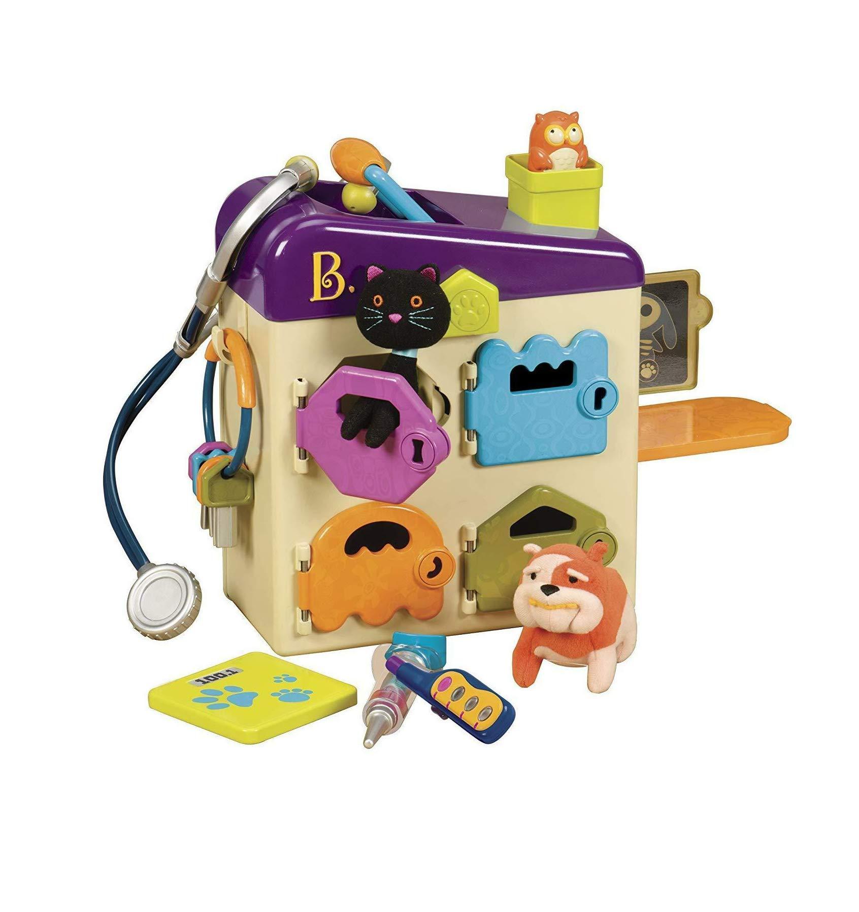 honjekitchen pet Vet Toy Doctor kit for Kids Pretend Play 8 Pieces 1 pcs