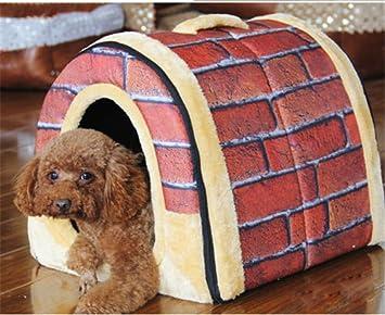 Mio.oo Casa de Mascotas y sofá, Muy Cálido Aislado Acolchado Acogedor Cueva casa Perro Gato Gato Gato: Amazon.es: Productos para mascotas