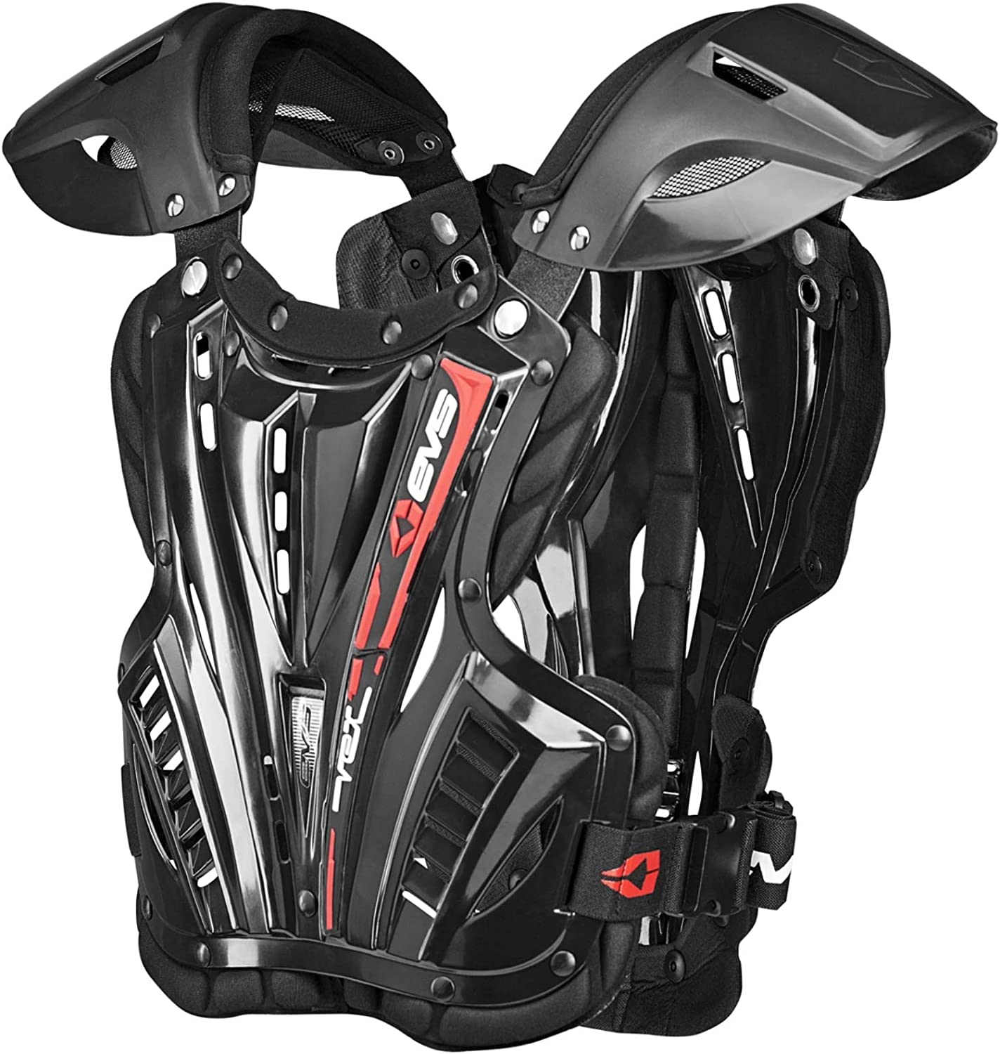 EVS Sports Men's Revo 4 Roost Diflector (Black, Small (Youth)) - VEX-BK-S