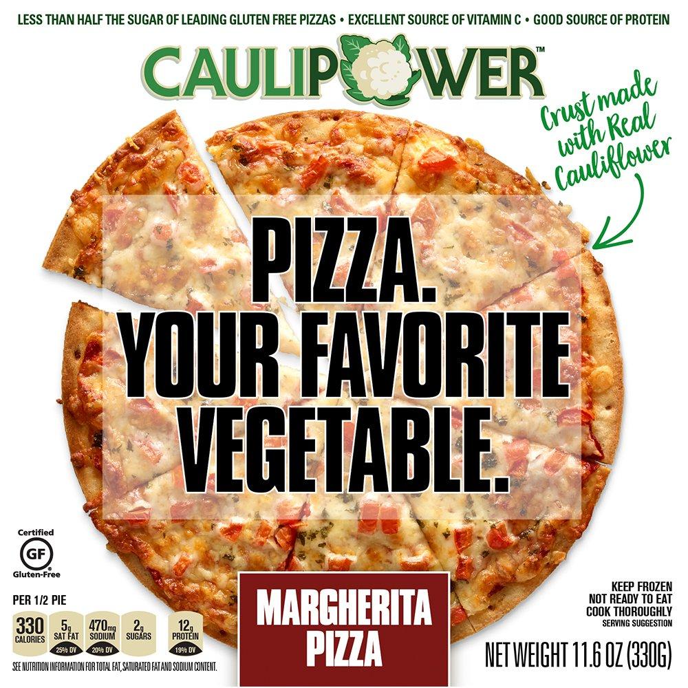 caulipower cauliflower crust pizza three cheese 4 pack amazon