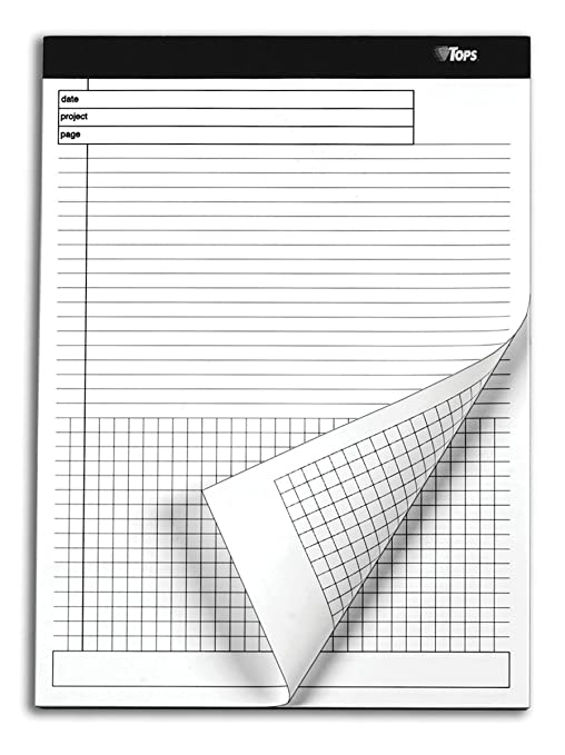 Amazon.com : TOPS Docket Gold Project Planning Pad, 8-1/2 x 11-3/4 ...