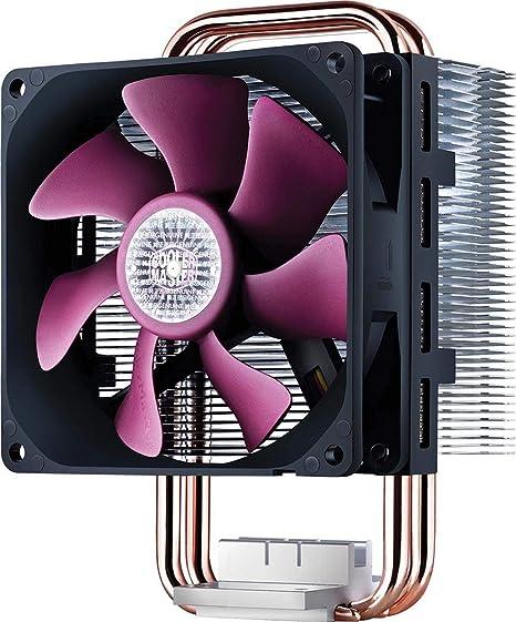 Cooler Master Blizzard T2 - Ventilador de CPU, Negro y púrpura ...