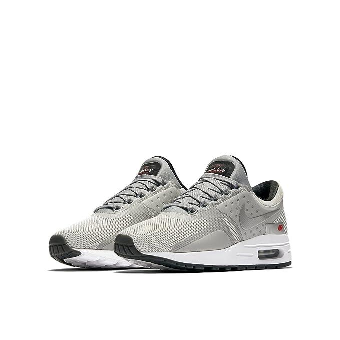 official photos ede7a 65ca5 Nike Boys Air Max Zero Quick Strike (GS) Metallic Silver ...