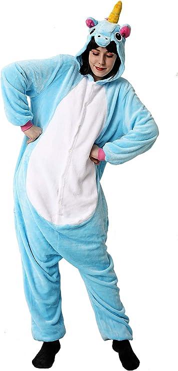 Costumizate! Disfraz de Unicornio Azul Adulto Especial para ...