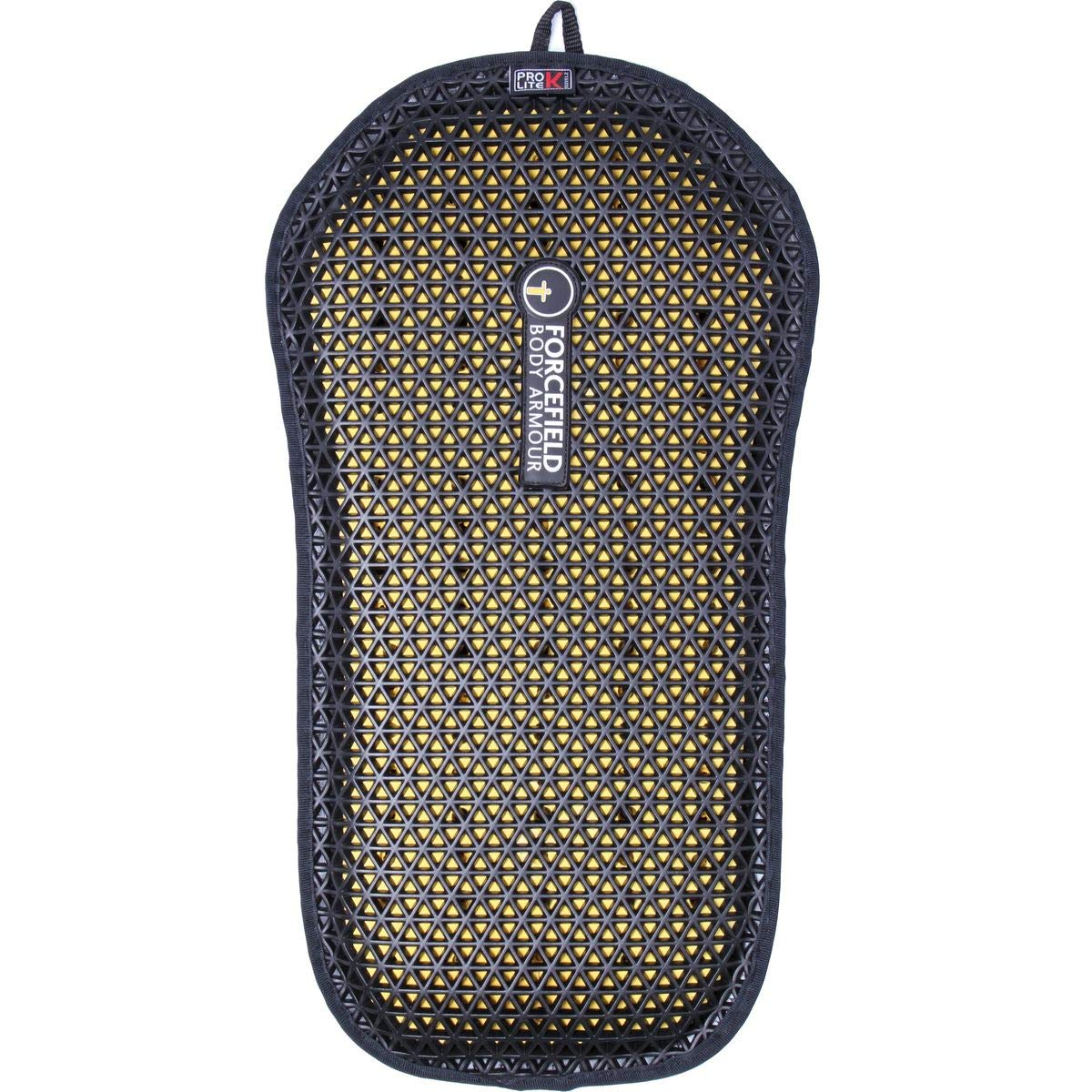 Forcefield Body Armour Pro Lite K Back Insert (011) (Black/Yellow)