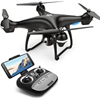 Holy Stone GPS FPV RC Drone HS100 with 1080P Camera Live Video and GPS Return Home Quadcopter with Adjustable Wide-Angle HD WIFI Camera- Follow Me, Altitude Hold, Intelligent Battery, Long Control Distance