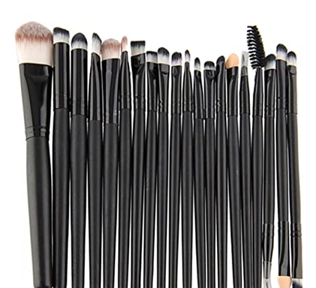 36071eca2759 20Pcs Freedi Makeup Brush Set Professional Foundation Cosmetics Blending  Eyeliner Eyeshadow Brush Tools White Gold