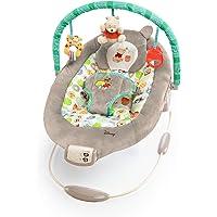 Disney, mecedora para bebés de Winnie the Pooh, diseño con lunares y tarros de miel