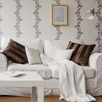 J Boutique Schablonen Gertrud Streifen Wand Schablone, Wiederverwendbar  Schablonen Für DIY Home Decor Wand Design