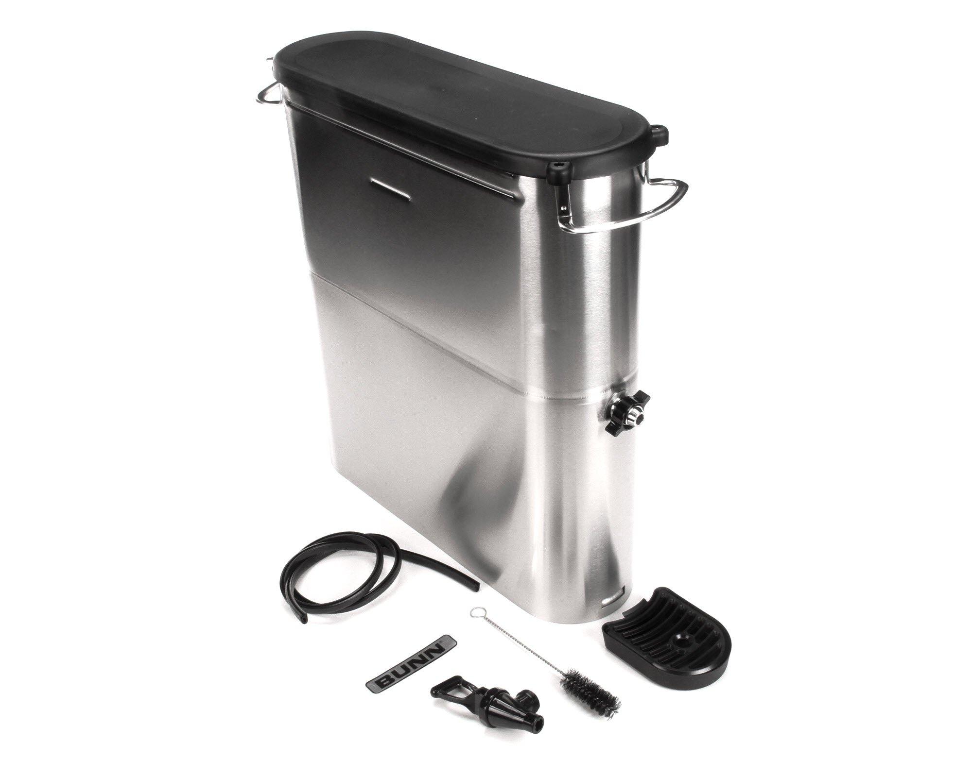 Bunn 39600.0002 Brew Through Narrow Oval Iced Tea Dispenser, 4 gal by BUNN