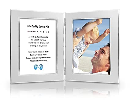 Best Christmas Gift To Father From DaughterSon Baby Happy Fathers Day Card