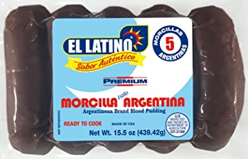 El Latino Morcilla Argentina (5 Morcillas), 15.5 oz: Amazon.com ...