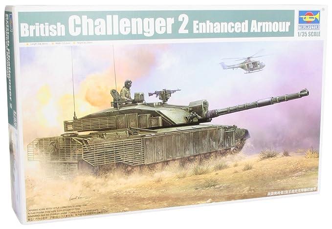 3cdb495ad653 Amazon.com  Trumpeter 1 35 British Challenger II Main Battle Tank ...