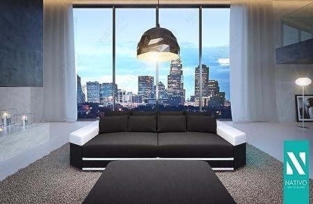 Nativo C Luxus Stoffsofa Big Sofa Skyline Mit Led Beleuchtung