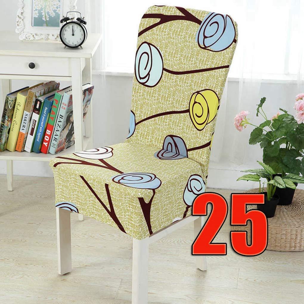 RXIN 椅子カバー 2点セット 24パターン スパンデックス 伸縮性 ホームインテリア ダイニングシート ソファ 椅子保護 ウェディング ストレッチ ホテルアーム 8BTI91  S11 B07KLPF7T6
