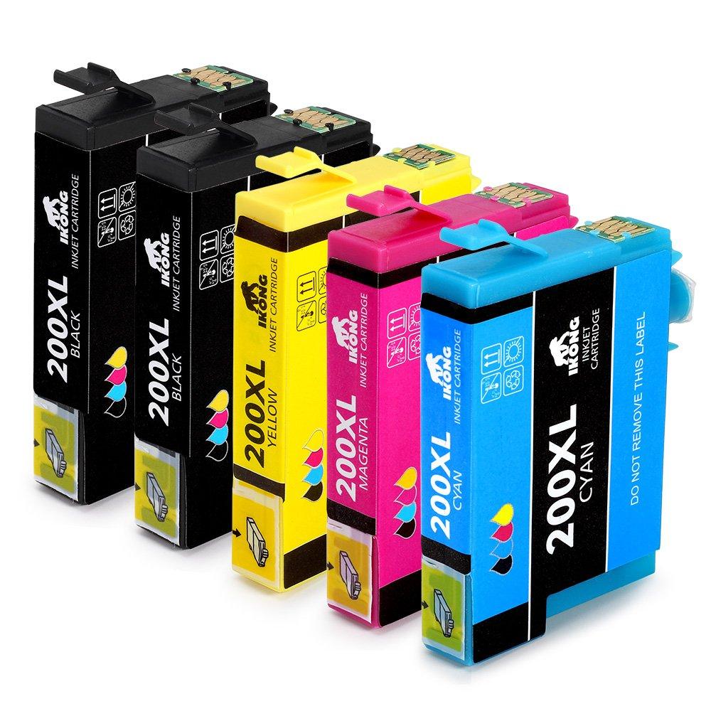 ikong alta capacidad de repuesto para EPSON 200 Cartucho de tinta ...