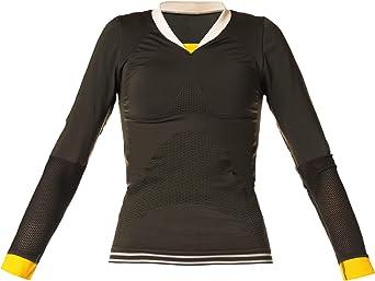 Camiseta Yoga Mujer. Camiseta Deportiva Manga Larga, sin Costuras: Amazon.es: Ropa y accesorios