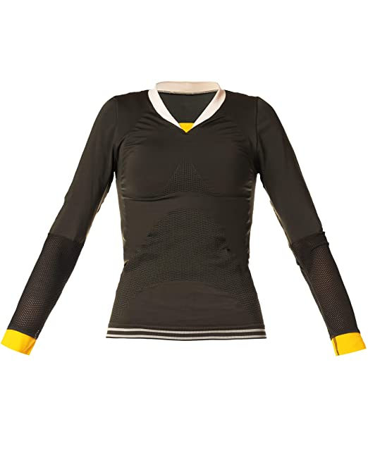 Camiseta Yoga Mujer. Camiseta Deportiva Manga Larga, sin ...