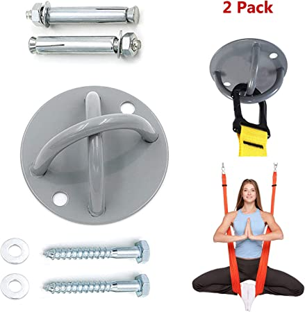 1 Set Suspension Trainer Mount Anchor Wall Ceiling