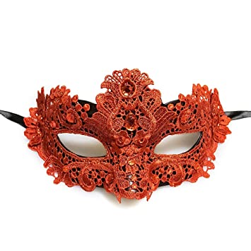 Prom Masquerade Lace Mask for Masquerade Wedding Brocade Lace Mask White Lace Mask Mardi Gras Mask Masquerade Mask