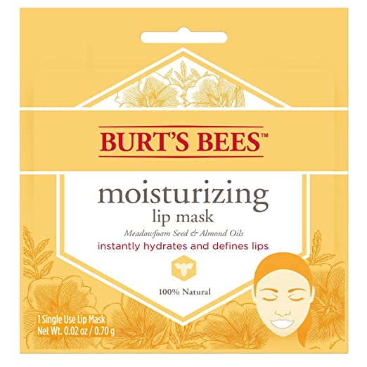 Burt's Bees Moisturizing Lip Mask, 6 Count