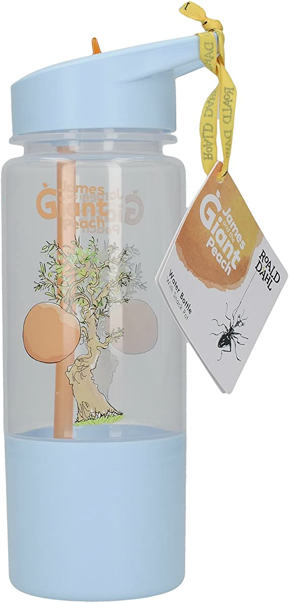 Roald Dahl James /& Giant Peach Hydratation Enfants Bouteille d/'eau 500 ml Snack Pot