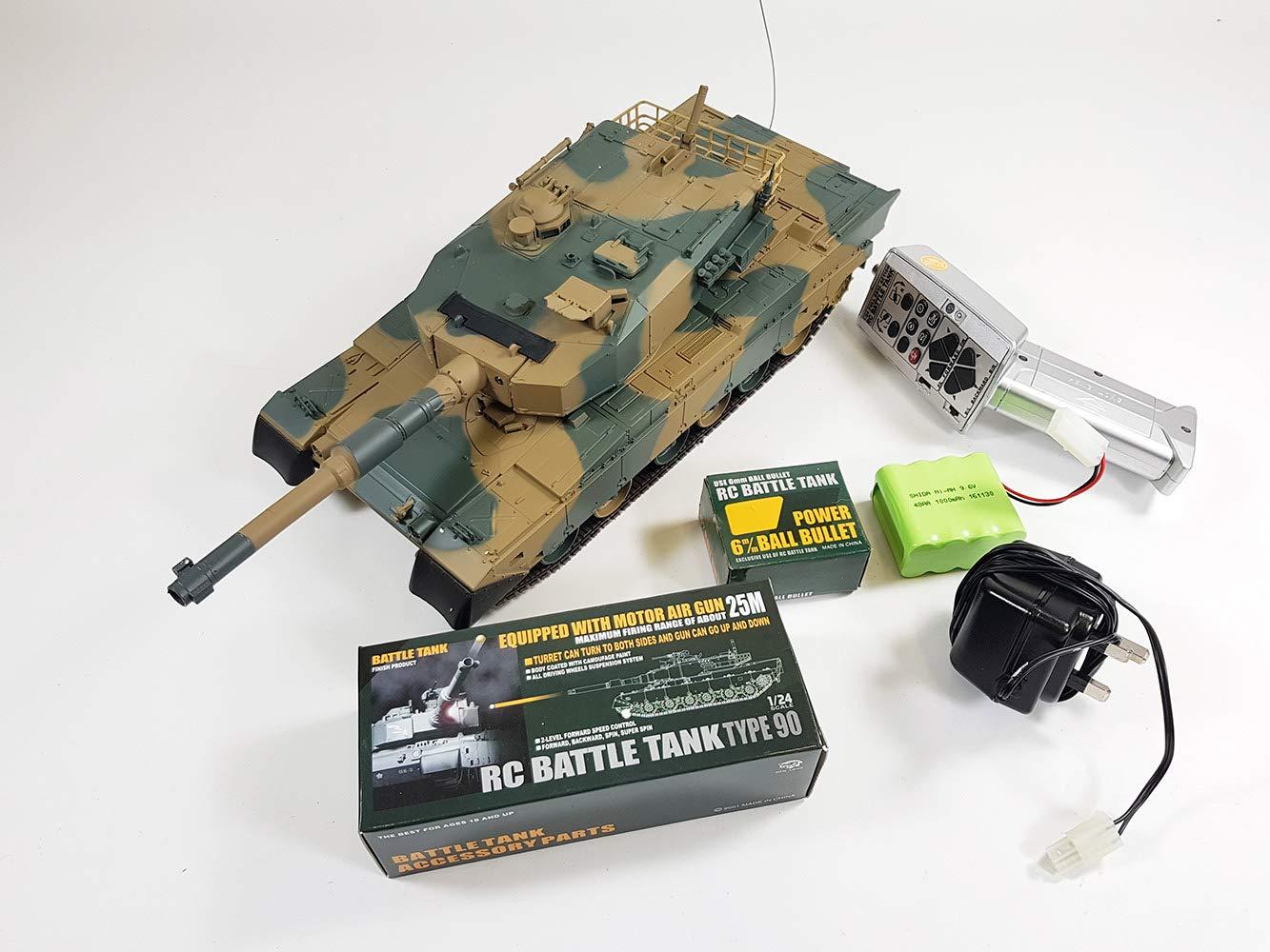 Bb Firing T90 Battle Tank Rc Toys Games Circuit
