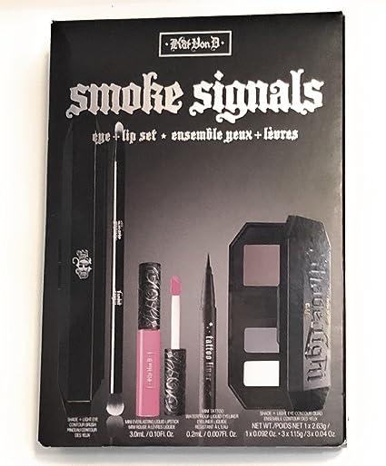 Kat Von D señales de humo + de ojos, labiales Set