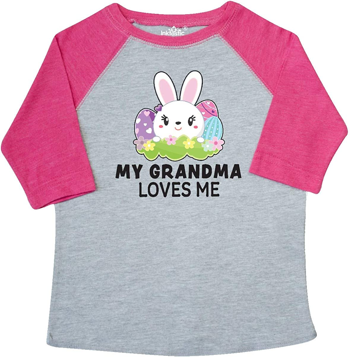 inktastic Happy Easter Grannys Little Chick Toddler T-Shirt