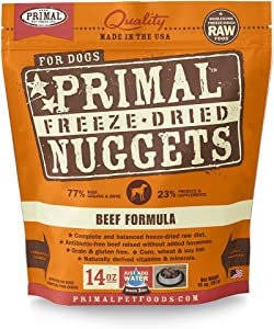 Primal Freeze Dried Dog Food Beef Formula
