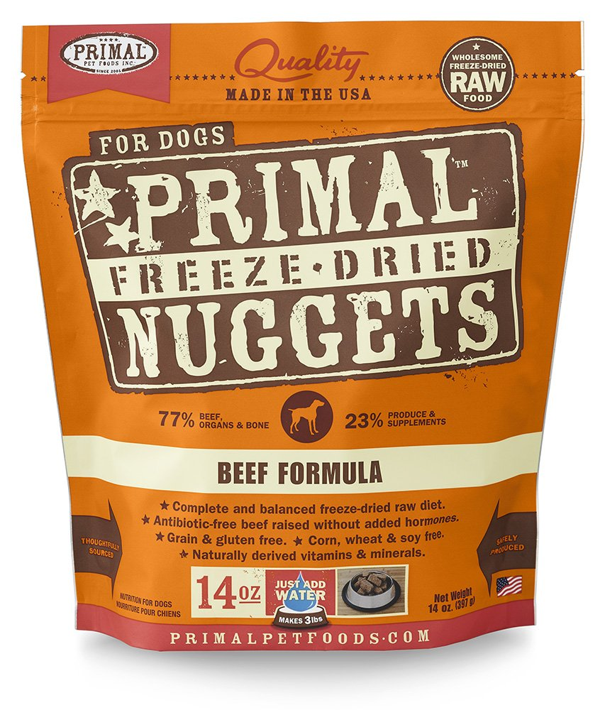 Primal Freeze Dried Dog Food Beef Formula 1