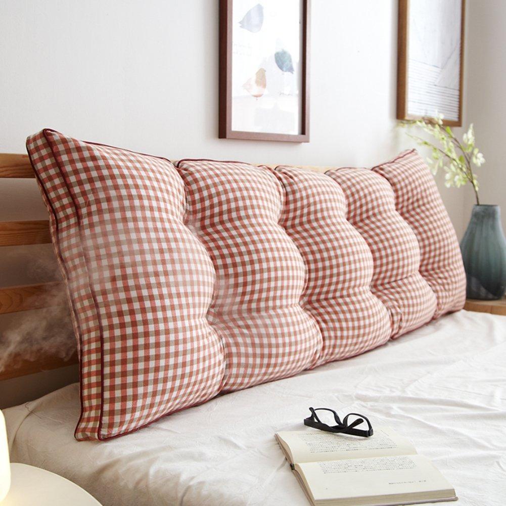 JIANHEADS ベッドサイド三角ウェッジ、読書枕バッククッションマットソファクッション背もたれポジショニングサポート枕 (Color : R, サイズ : 120x20x50cm(47x8x20inch)) B07RX3D8KV R 120x20x50cm(47x8x20inch)