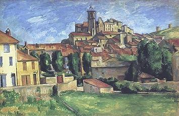 Amazon.com: The Museum Outlet - Gardanne, 1885-86 - Canvas ...