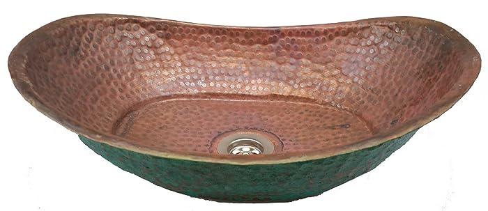 Amazon.com: Rustic Verde Fire Burnt Bathtub Bath Tub Design Copper ...
