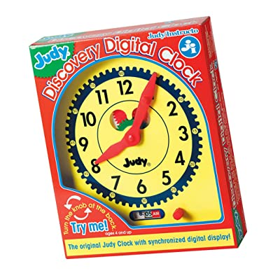 Judy Discovery Digital Clock: Judy Instructo: Toys & Games
