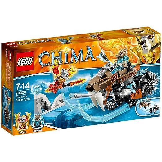 LEGO Legends Of Chima - Juego de construcción, 161 piezas (70220): Amazon.es: Juguetes y juegos